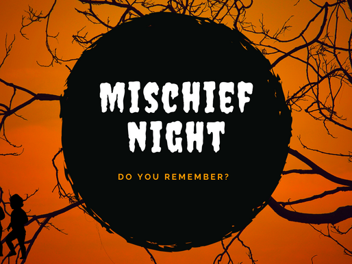 "Please Tell Me There's Still a ""Mischief Night"""