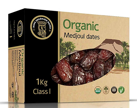 Organic Medjool Dates - 1KG Sealed Box