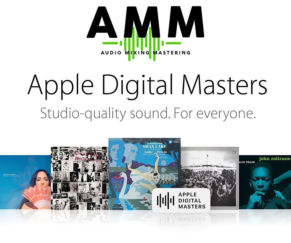 Apple Digital Masters - Audio Mixing Mastering