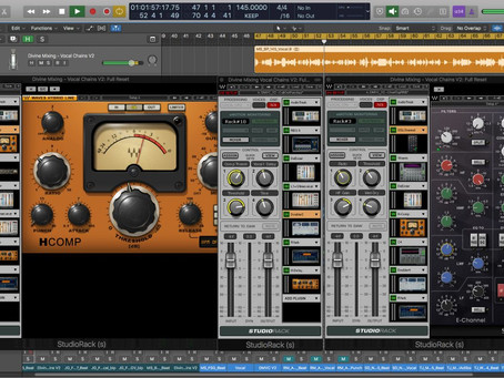 Mixing and Mastering: Industry Vocal Chain