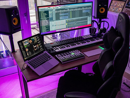 What do I need to buy for a home music studio?