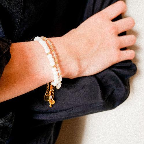 Bracelet White Shell