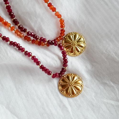 Collier Fleur de Jaipur
