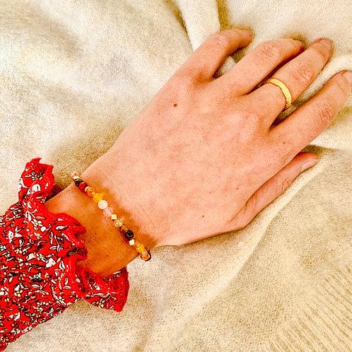 Bracelet Agates Sacrées