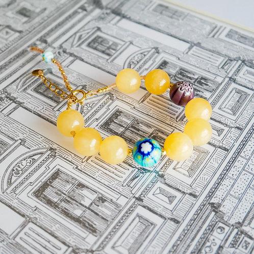 Bracelet Jade Soleil (Big)