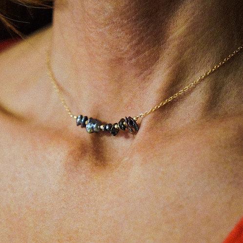 Collier Pétales de Perles