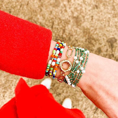 Bracelet Bouée Pavée