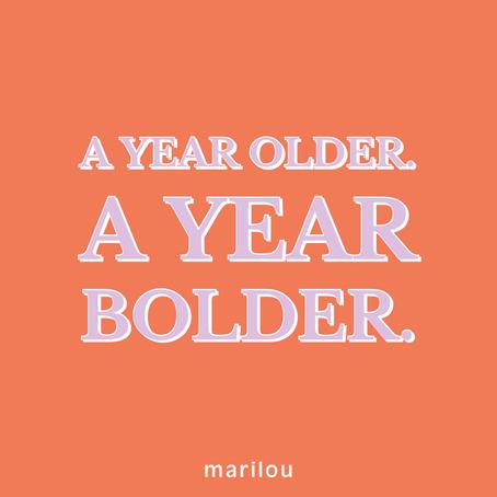 Joyeux Anniversaire Marilou !