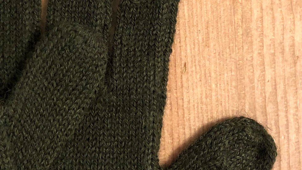 Women's Alpaca Olive Green