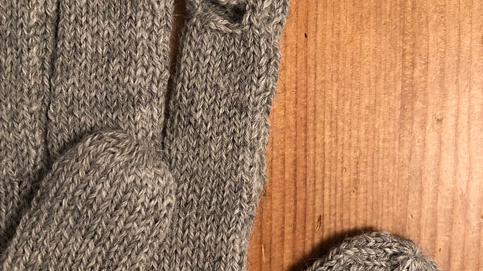 Men's Winter Gloves Heathered Gray