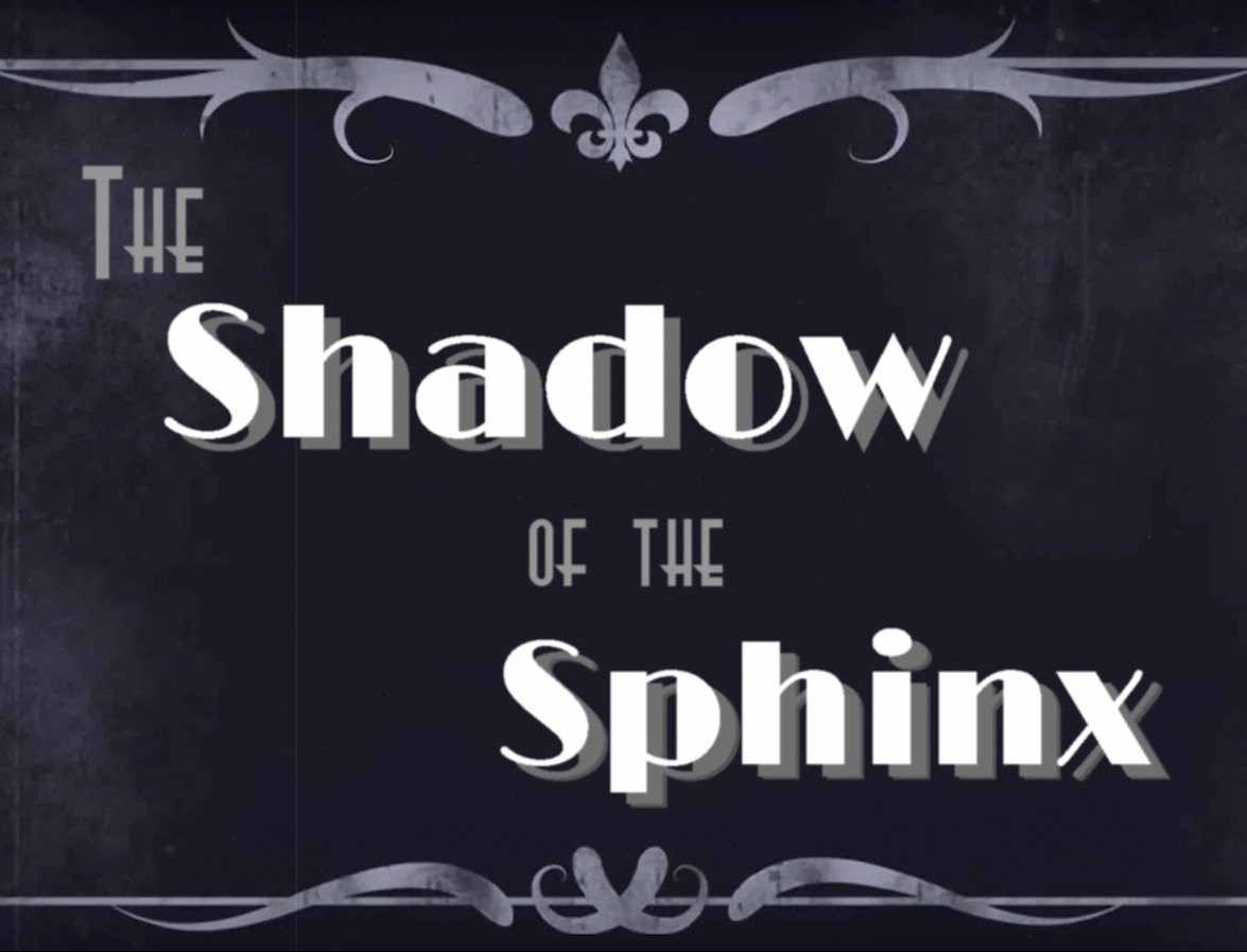 COVER ART - SHOWDOW OF THE SPHINX