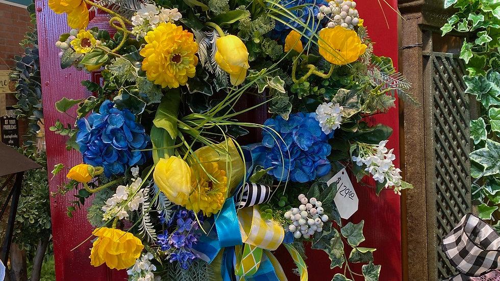 Spring or Summer wreath
