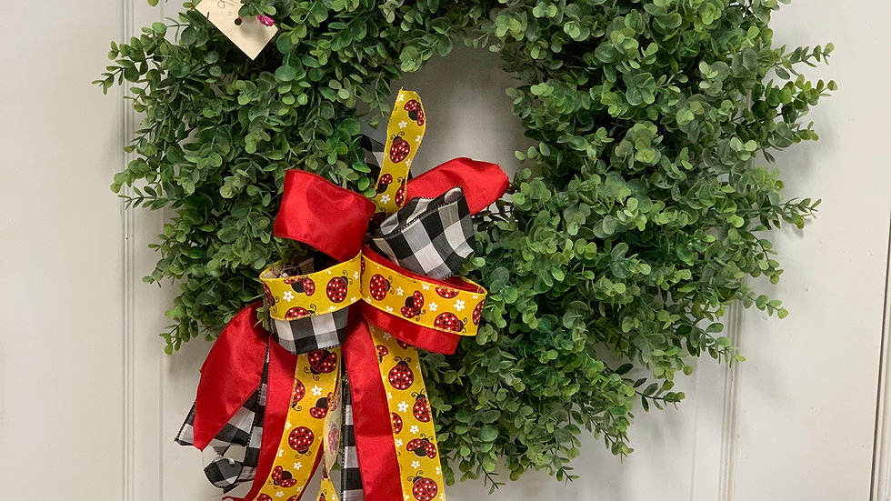 16 boxwood wreath