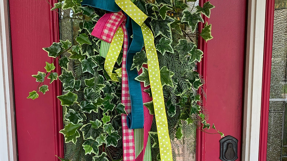 Grassy Wreath/bow