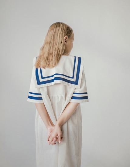 Платье детское «морское»