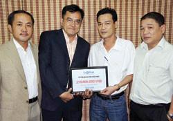 SAOKHUE phối hợp hoạt động từ thiện với Báo Thanh Niên