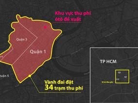 Thu phí ô tô vào trung tâm Tp.HCM