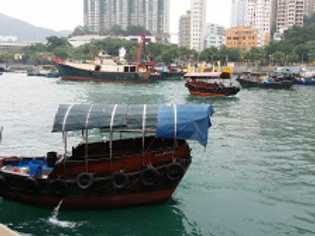 Away from demonstration area, the Hong Kong Island Tour