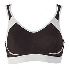 Anita, Sports Bra, Maximum Support, Black, Heather Grey, White, Desert, 5527