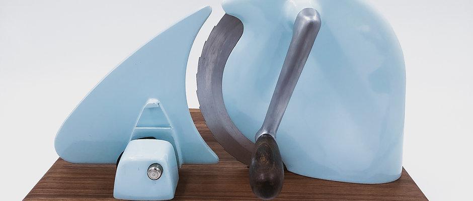 Alexanderwerk  Schneidemaschine - Vintage blau