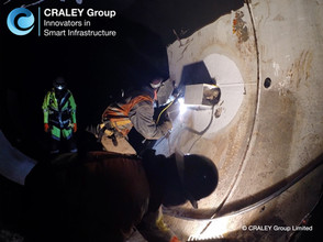 CRALEY Fibre™ 7km underground river link, WA, USA.