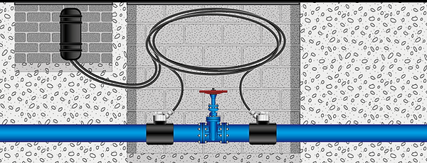 Fibre in water pipes