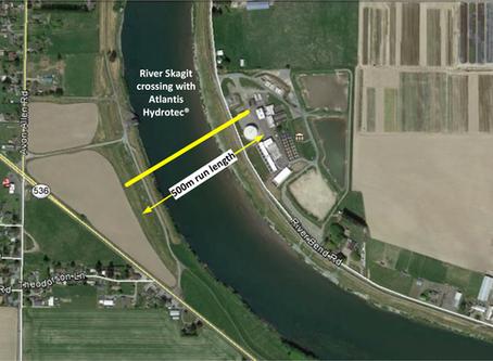 Ciudad de Anacortes, WA: FTTx Cruce del río Skagit