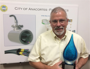 City of Anacortes FTTx award for Innovation using CRALEY Group's Atlantis Hydrotec solution