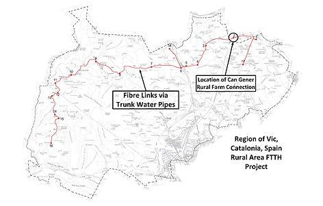 CRALEY Group Fibraigua FTTx Spain Map.jp