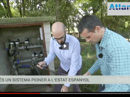 Atlantis Hydrotec featured on TV3 in Spain