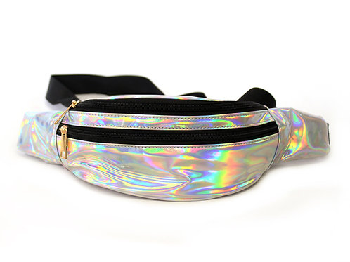 Silver Fanny Pack