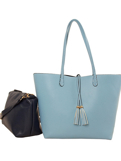 Reversible Tote with Bag-in-Bag
