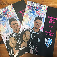 Waitara High School Perfect Bound Year Book