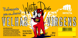 Rótulo White Dog Velhas Virgens
