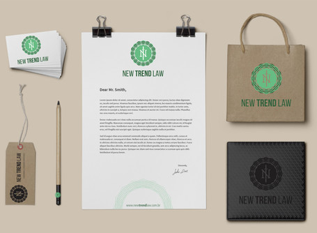 Design para marca New Trend Law