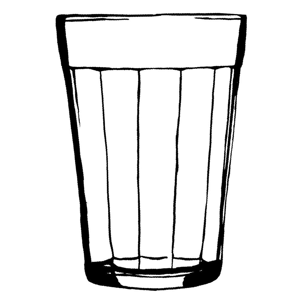 copo desenhado no guardanapo, virou capa de disco