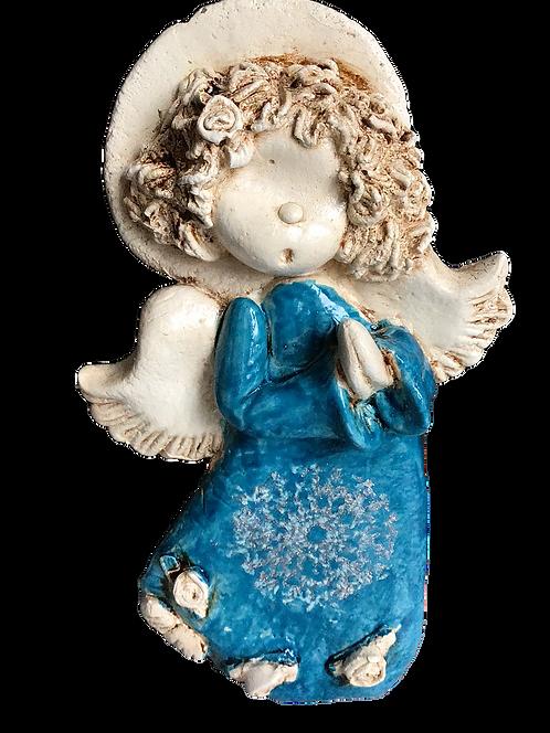 Aniołek dla dziecka -Rękodzieło, ręcznie malowany