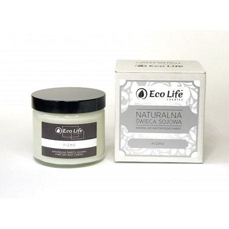 Naturalna świeca sojowa zapachowa Piżmo