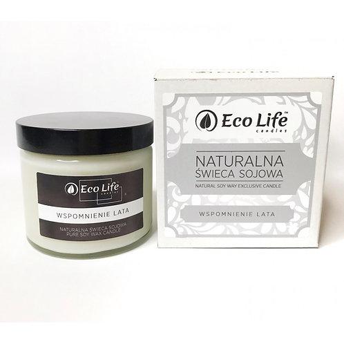 """Naturalna świeca sojowa aromaterapia """"Wspomnienie lata"""""""