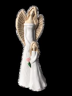 Anioł Matka z córką 2a
