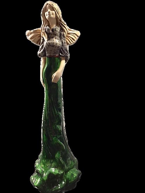 Anioł Megi - Rękodzieło, ręcznie malowane