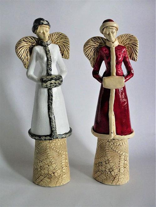 Anioł Jodi - Rękodzieło, ręcznie malowane