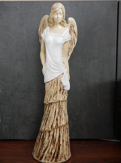 Anioł Anyx - bardzo duży - Rękodzieło, ręcznie malowany