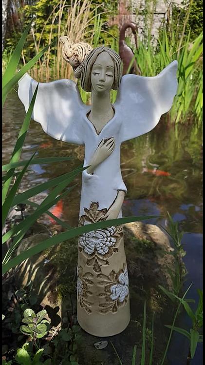 Anioł Cynthia - Rękodzieło, ręcznie malowane