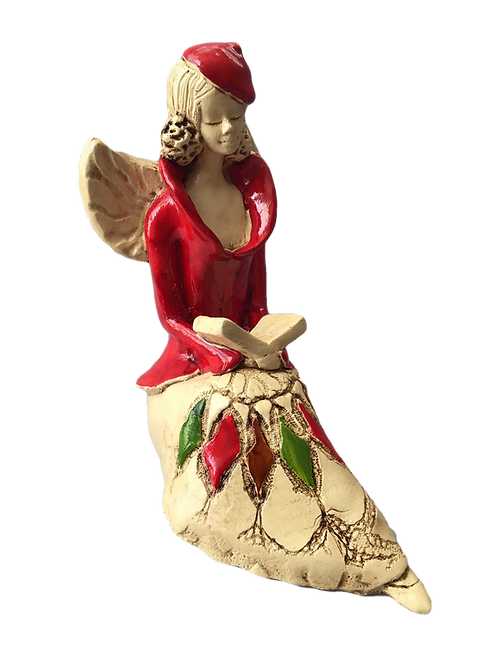 Aniołek Lori - Rękodzieło, ręcznie malowane
