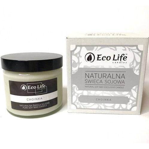 """Naturalna świeca sojowa aromaterapia """"Choinka"""""""