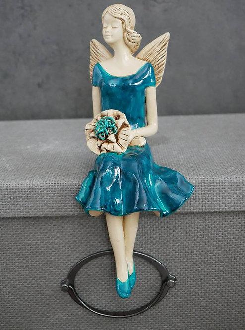 Aniołek Poli - Rękodzieło, ręcznie malowane