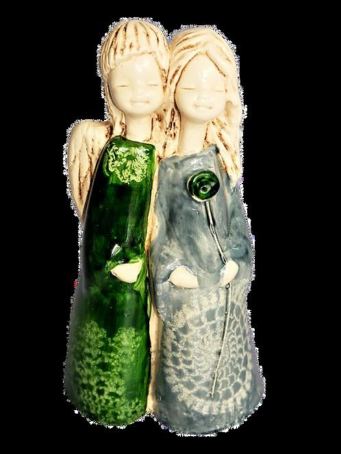 Anioł Ella&Gal - Rękodzieło, ręcznie malowane