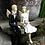 Thumbnail: Anioły Młoda Para na ławeczce- Rękodzieło