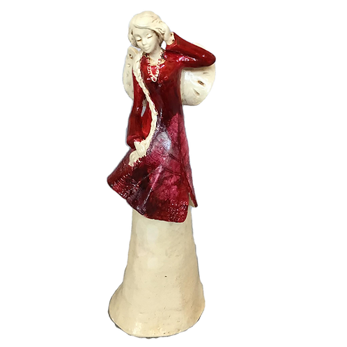 Anioł Alexa - Rękodzieło, ręcznie malowany